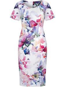 Sukienka damska Laura IV, wiosenna kreacja z tkaniny. - 2846790850