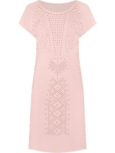 Sukienka z modną aplikacją Zygfryda III. - 2853070386