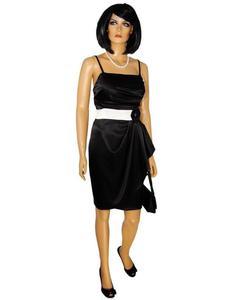 Sukienka wieczorowa Aneta XII, satynowa kreacja weselna. - 2824753343