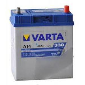 AKUMULATOR VARTA BLUE Dynamic 40Ah 330A A14 SUZUKI ALTO WAGON R+ X-90 (EL) TOYOTA PRIUS sedan (NHW11_) - 2833362053