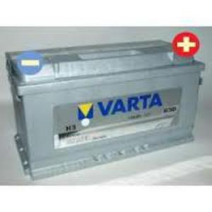AKUMULATOR 100Ah 830A VARTA SILVER H3 PEUGEOT 604 BOXER J5 RENAULT MASTER TRAFFIC ROLLS ROYCE CORNICHE PHANTOM SILVER SERAPH - 2833362155
