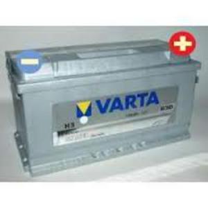 AKUMULATOR 100Ah 830A VARTA SILVER H3VW PASSAT SHARAN TOUAREG TRANSPORTER T3 T4 T5 VENTO - 2833362156