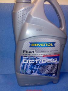 Olej do skrzyni biegów automatycznej RAVENOL DCT/DSG 4l Dodge Journey 2.0 2.2 roczniki 2009-2012 - 2833368888