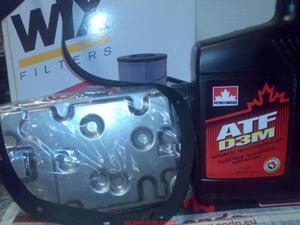 olej i filtr oleju skrzyni biegów Toyota Sienna 3.0 2000-2004 zestaw do wymiany - 2833369345