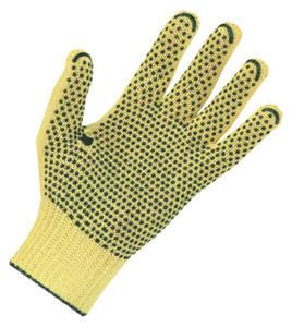 Rękawice 100% KEVLAR ?,nakrapiane PVC, 200 par, rozmiar 7 - 1735865019