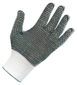 Rękawice poliamid/poliester,bezpyłowe nakrapiane PVC, 200 par, rozmiar 7 - 1735865061