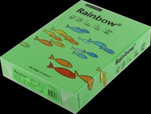 Papier ksero A4 a'500 80g Rainbow ciemno zielony 78 - 2858922816