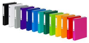 Segregator A4 40mm 4 ringi oklejany folia polipropylenowa kolor Vaupe 057 - 2858923323