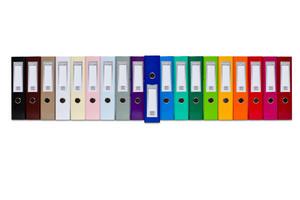 Segregator na dokumenty A4 75mm FCK okuty kolor Vaupe 061 - 2858923329