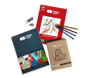 Zestaw artystyczny Rysunek art Happy Color - 2858923715