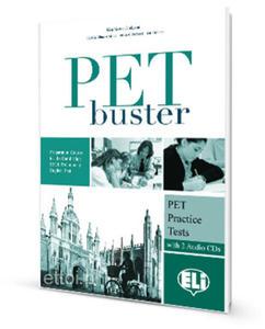 PET Buster - PET Practice Tests + 2 Audio CDs - 2827701741