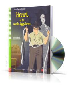 Henri et la tombe égyptienne + CD audio - 2827703370