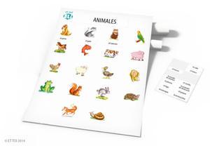 Pósteres activos de vocabulario - Animales... - 2827703821