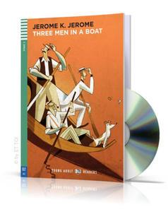 Three Men in a Boat + CD audio - 2827703942