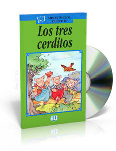 Los tres cerditos + CD audio - 2827701248