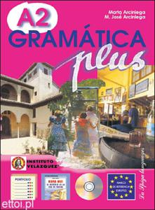 Gramática Plus A2 + CD audio - 2827701273