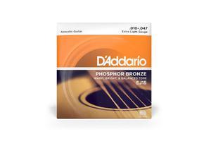 D'ADDARIO struny do gitary akustycznej Phospho-Bronze EJ15 - 1745881267
