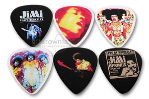 DUNLOP zestaw kostek gitarowych Jimi Hendrix Band Of Gypsys Set