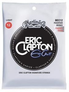 """MARTIN struny do gitary akustycznej MEC12 - .012""""-.054"""" Phosphor Bronze - 1745880966"""