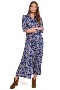Koszulka nocna Koszula Nocna Model 3006 Pink/Black - Lupo Line - 2864279937