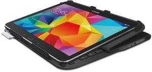 Klawiatura Etui do tabletu LOGITECH UltraThin Folio S410 do Galaxy Tab (920-006389) / czarne / naklejki PL - Klasa 1 - 2836777633
