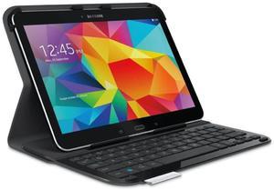 Klawiatura do tabletu LOGITECH UltraThin Folio S410 do Galaxy Tab (920-006389) / czarne / naklejki PL - Klasa 2 - 2844147967