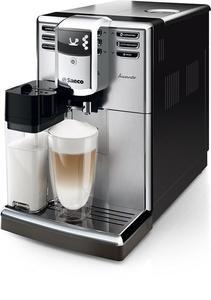Ekspres z młynkiem PHILIPS SAECO Incanto HD8917/01 / Ceramiczne młynki / Regulacja ilości kawy / 5 ustawień mocy aromatu / 5 ustawień młynka - Klasa 1 \ srebrny || czarny - 2858320832