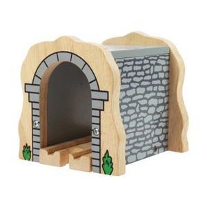 Tunel kolejowy z kamienia do drewnianej kolejki - 2824780779