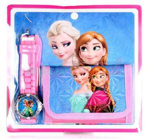 Zegarek na rękę i portfel Kraina Lodu Frozen - 2847022570