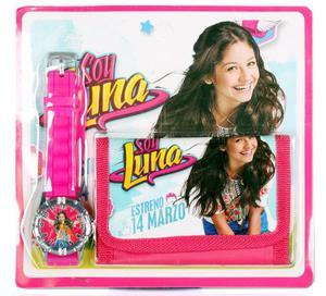 Zegarek na rękę i portfel - Soy Luna Exxtra - 2858255951