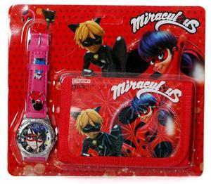 Zegarek na rękę i portfel - Biedronka i Czarny Kot - 2858256001