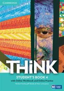 Think Level 4 Student's Book with Online Workbook and Online Practice - 2848590517