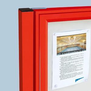 Zegar Wall clock 39 cm, Plastic, 3D, Grey, La Ville - 2833549192