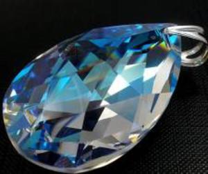 SUPER CENA SWAROVSKI DUŻY WISIOR 50MM BLUE AURORA - 2824148161