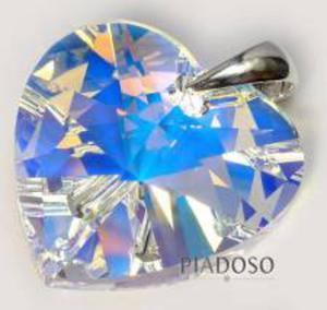 SWAROVSKI SREBRO WISIOREK duży kryształ 28mm - 2852706565