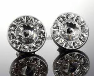 SWAROVSKI ozdobne kolczyki CRYSTAL SREBRO #10 - 2850370340