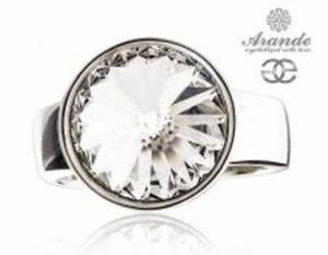 SWAROVSKI przepiękny pierścionek CRYSTAL PARIS SREBRO - 2868384847