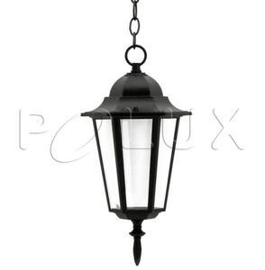 LAMPA OGRODOWA ALUM POLUX LIGURIA-LT GLA104LTHBK WISZĄCA CZARNA - 2875312839