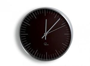 Philippi TEMPUS B1 Zegar Ścienny - Czarny - 2833035756