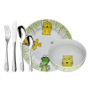 WMF Zestaw dla Dzieci - Sztućce + Porcelana - Safari - 2837615340