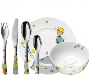 WMF Zestaw dla Dzieci - Sztućce + Porcelana 6 El. - Mały Książe - 2837615342