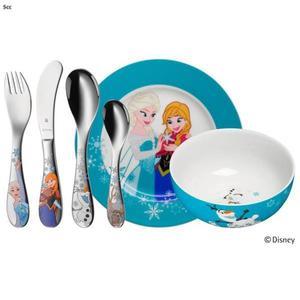 WMF Zestaw dla Dzieci - Sztućce + Porcelana 6 El. - FROZEN - 2856477586