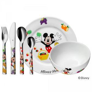 WMF Zestaw dla Dzieci - Sztućce + Porcelana 6 El. - MYSZKA MIKI - 2856477590