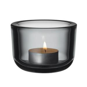 Iittala VALKEA Świecznik Tealight - Szary - 2880205673