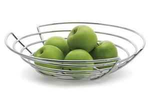 Blomus WIRES - Kosz na Owoce Płaski 30 cm - 2833031618