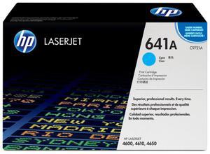Oryginał Toner HP 641A do Color LaserJet 4600/4650   8 000 str.   cyan - 2835584504