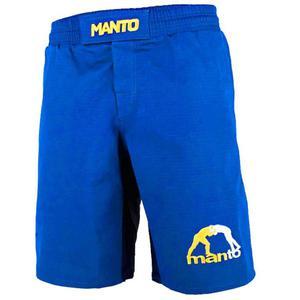 c3bfceacaa5d Manto LOGO RipStop 4.0 spodenki MMA-niebieskie - 2822796507