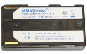 Akumulator KAMERA CANON BP-911 BP-912 BP-914 1850mAh 7,2V - 2060685298