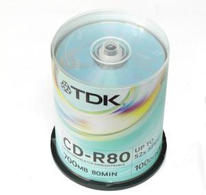 Płyta CD-R TDK 700MB bez opakowania - 2060685833