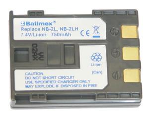 Akumulator KAMERA CANON NB-2L 750mAh 7,4V - 2060686448